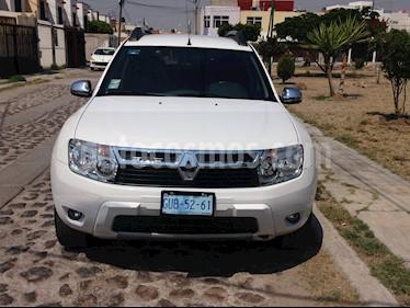Foto venta Auto usado Renault Duster Dynamique Aut (2014) color Blanco Glaciar precio $150,000