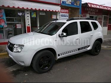 Foto venta Auto usado Renault Duster Dynamique Aut (2013) color Blanco Glaciar precio $118,000