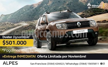 Foto venta Auto Usado Renault Duster Dynamique  (2018) precio $501.000