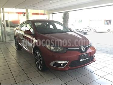 Foto venta Auto Seminuevo Renault Fluence Privilege CVT (2017) color Rojo Magma precio $265,000