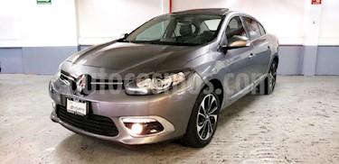 Foto venta Auto Seminuevo Renault Fluence Privilege CVT (2017) color Gris precio $265,000