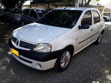 Renault Logan 1.6 Dynamique AA Mec 4P usado (2008) color Blanco precio $17.800.000
