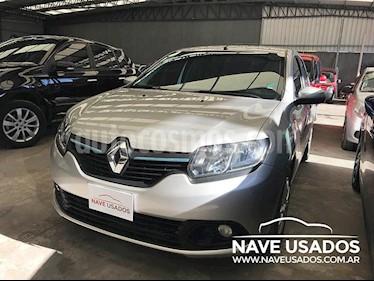Foto venta Auto Usado Renault Logan 1.6 Expression 85cv (2015) color Gris Claro precio $255.000