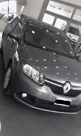 Foto venta Auto Usado Renault Logan 1.6 Expression (2014) color Gris Acero