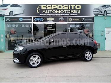 foto Renault Logan 1.6 Privilege usado (2014) color Negro precio $450.000
