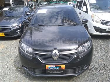Renault Logan 1.6L Dynamique usado (2016) color Negro precio $35.500.000
