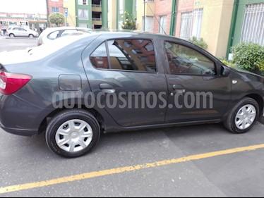 Foto venta Carro Usado Renault Logan Authentique (2017) color Gris Cometa precio $25.000.000