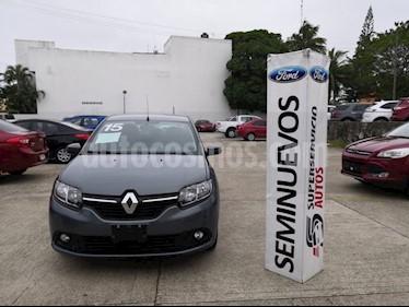 Foto venta Auto Seminuevo Renault Logan Dynamique (2015) color Gris precio $125,000