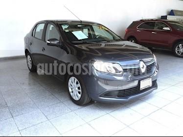Foto venta Auto Seminuevo Renault Logan EXPRESSION T/M (2017) color Gris Acero precio $165,000