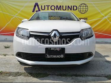 Foto venta Auto Seminuevo Renault Logan Expression (2017) color Blanco Glaciar precio $153,800