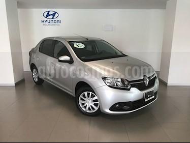 Foto venta Auto Usado Renault Logan Expression (2015) color Gris Estrella precio $129,000