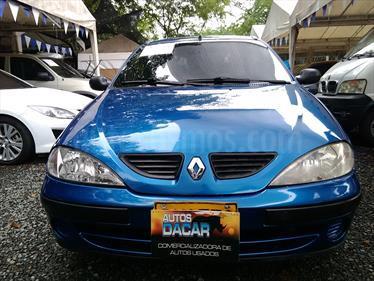 Foto venta Carro usado Renault Megane 14 (2004) color Azul precio $12.900.000
