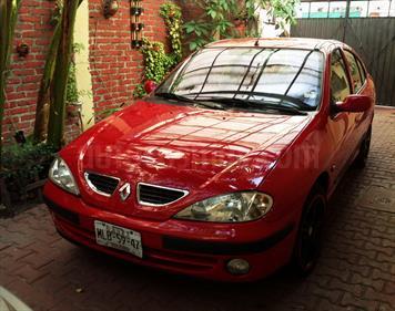 Foto venta Auto usado Renault Megane 2.0L 4P Fireway (2003) color Rojo precio $50,000