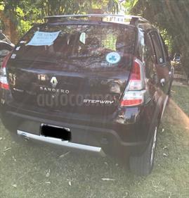 Foto venta Auto usado Renault Sandero Stepway 1.6 Confort (2012) color Negro Nacre precio $200.000