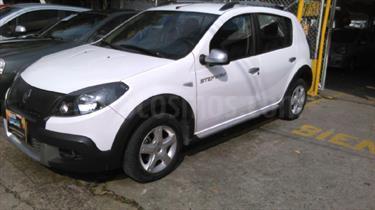 Foto venta Carro usado Renault Sandero Stepway 1.6L (2013) color Blanco precio $34.000.000