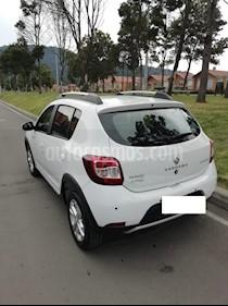 Foto venta Carro Usado Renault Sandero Stepway Expression (2018) color Blanco Glaciar precio $42.000.000
