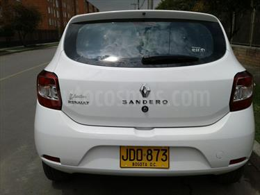 Renault Sandero 1.6 Authentique AA Mec 5P usado (2017) color Blanco Artico precio $30.000.000