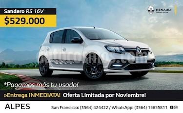 Foto venta Auto Usado Renault Sandero 1.6 Authentique Pack II (2018) precio $529.000