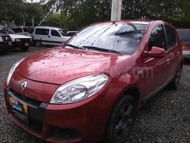 Foto venta Carro Usado Renault Sandero 1.6L Expression (2015) color Rojo precio $28.000.000