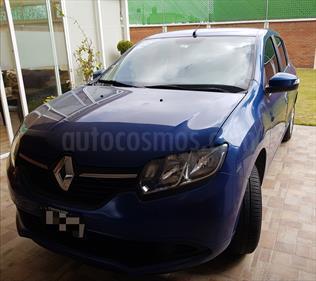Foto venta Auto Seminuevo Renault Sandero Expression Aut (2017) color Azul precio $175,000