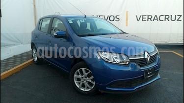 Foto venta Auto Seminuevo Renault Sandero Expression Aut (2017) color Azul