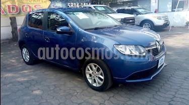 Foto venta Auto Seminuevo Renault Sandero Expression (2017) color Azul Crepusculo precio $163,000