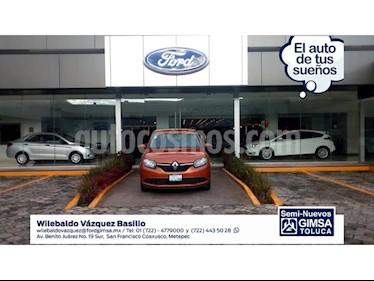 Foto venta Auto Seminuevo Renault Sandero Expression (2017) color Naranja precio $158,000