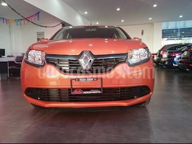 Foto venta Auto Seminuevo Renault Sandero Expression (2017) color Naranja precio $149,000