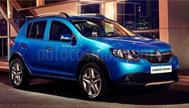 Foto venta Auto usado Renault Stepway Dynamique (2017) color Azul precio $230,600