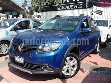 Foto venta Auto Seminuevo Renault Stepway Zen (2017) color Azul precio $185,000