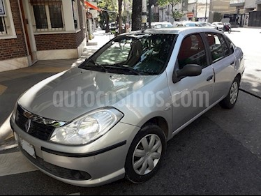 Foto venta Auto usado Renault Symbol 1.6 Authentique Pack (2009) color Gris Plata  precio $134.900