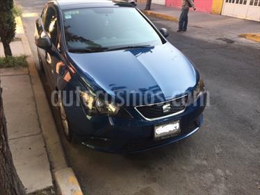 Foto venta Auto Usado SEAT Ibiza Coupe Blitz 1.6L (2016) color Azul Apolo precio $155,000