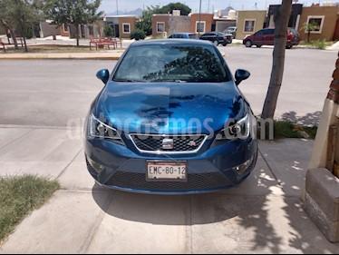 Foto venta Auto Usado SEAT Ibiza Coupe FR 1.2L Turbo (2016) color Azul Apolo precio $215,000