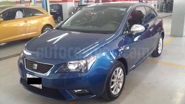 Foto venta Auto Usado SEAT Ibiza Coupe Turbo Blitz 1.2L  (2013) color Azul Apolo precio $130,000