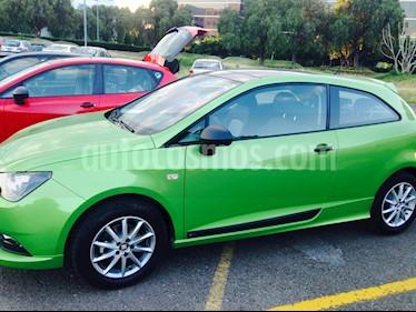 Foto venta Auto Usado SEAT Ibiza Coupe Turbo Blitz 1.2L (2015) color Verde Lima precio $160,000