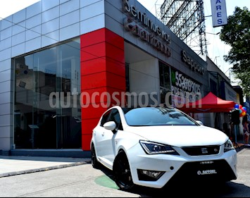 Foto venta Auto Usado SEAT Ibiza FR 1.2L Turbo 5P (2017) color Blanco Nevada precio $255,000