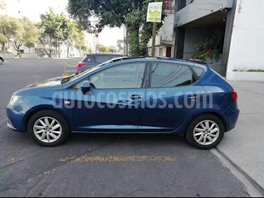 Foto venta Auto Usado SEAT Ibiza Style 1.6L DSG 5P  (2014) color Azul Apolo precio $159,000