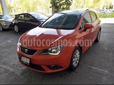 Foto venta Auto Seminuevo SEAT Ibiza Style 1.6L DSG 5P  (2017) color Naranja precio $229,900