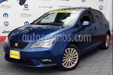 Foto venta Auto Seminuevo SEAT Ibiza Style Urban Techo P. 1.6L Paq. de Seguridad (2016) color Azul Mediterraneo precio $199,000