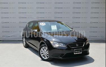 Foto venta Auto Seminuevo SEAT Leon Reference 1.4T 122 HP (2014) color Negro Universal precio $175,000