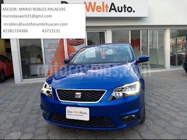 Foto venta Auto usado SEAT Toledo Advance DSG (2017) color Azul Oceano precio $274,000