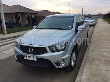 SsangYong Actyon Sports 2.0L 4x2 Semi Full  usado (2013) color Gris Grafito precio $8.900.000