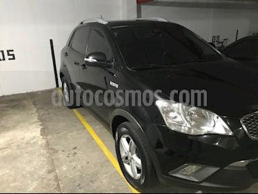 SsangYong Korando C 4x2 Diesel usado (2011) color Negro precio $34.000.000
