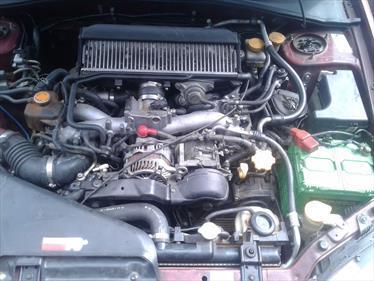 Foto venta Auto usado Subaru Impreza 2.5 WRX STI AWD Turbo  (2007) color Rojo precio $4.000.000