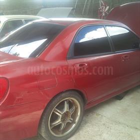 Foto venta carro usado Subaru Impreza GL 1.6 Auto. (2002) color Rojo Perla precio u$s1.500