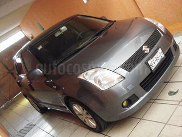 Foto venta Auto Seminuevo Suzuki Swift 1.5L (2008) color Gris Oscuro precio $85,000