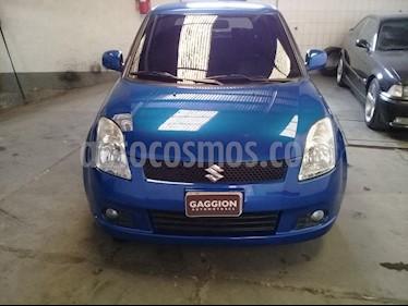 Foto venta Auto Usado Suzuki Swift 5P 1.5 (2007) color Azul Ambicion
