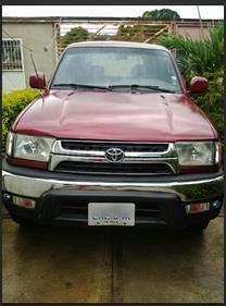 Foto venta carro usado Toyota 4Runner 4x2 (2001) color Rojo Tinto precio u$s5.200