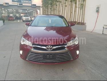 Foto venta Auto Usado Toyota Camry XLE 2.4L (2017) color Vino Tinto precio $365,000