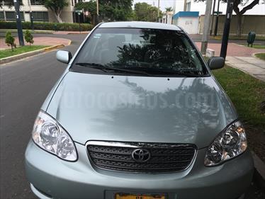 Foto venta Auto usado Toyota Corolla  1.6 GLI Aut (2007) color Verde Metalico precio u$s8,350